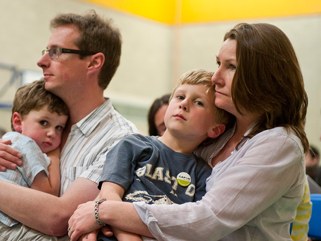Family-at-a-Catholic-liturgical-service