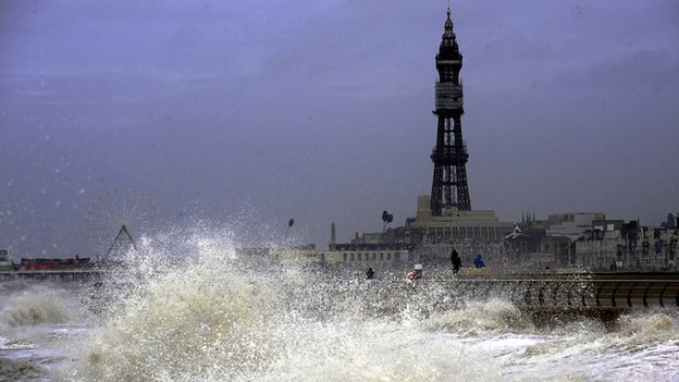 blackpool waves