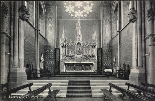 High Altar St Marys c1915