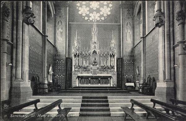 High Altar St Marys c1915
