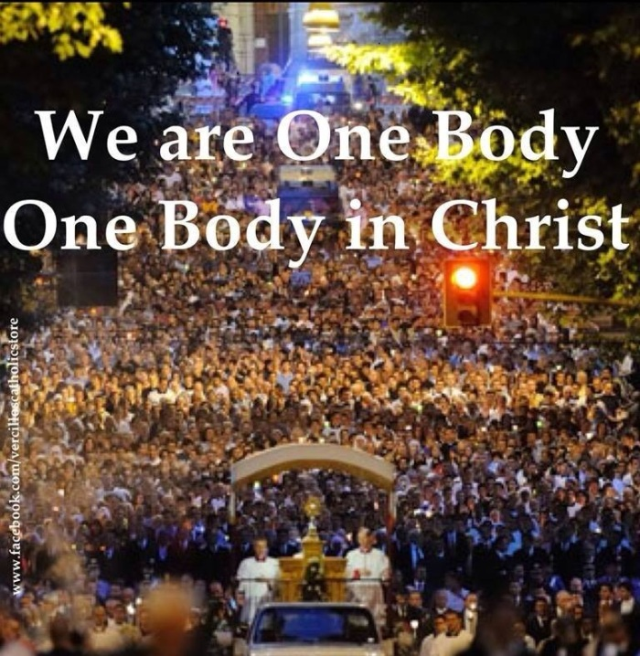 we are one body