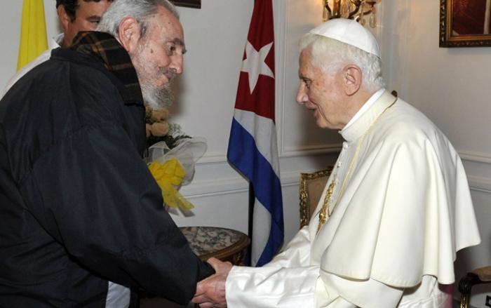 Fidel-Castro-Pope-Benedict