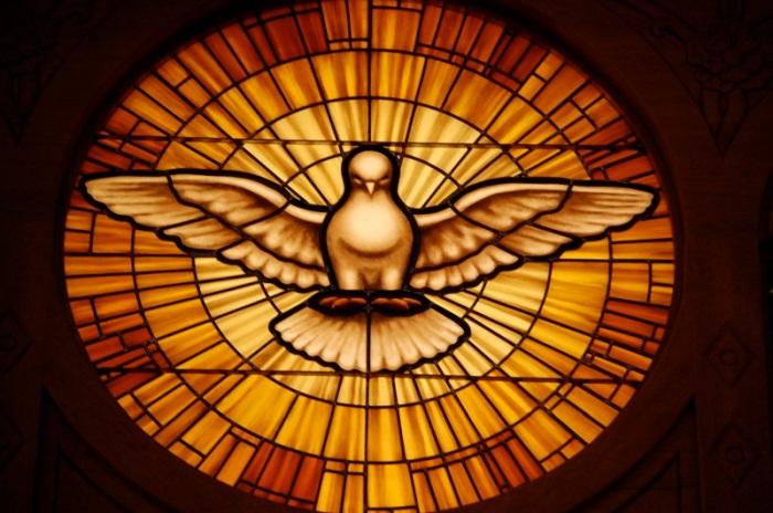 Holy Spirit Window, St. Peter's, Rome