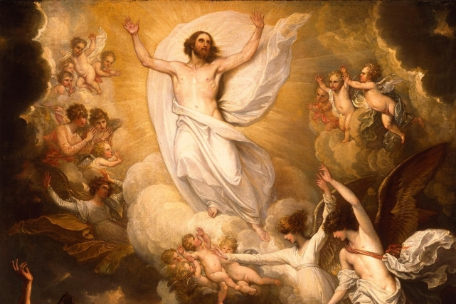 Image result for ascension of the Lord